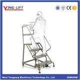 2016 escadas industriais do rolamento de aço da venda quente com certificado do Ce