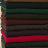 Franela sólido tejido de lana para la ropa ropa de tela de traje de tela y textil