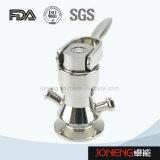 Válvula de rosca femenina higiénica del muestreo del acero inoxidable (JN-SPV2005)