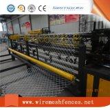 Vollautomatischer Kettenlink-Zaun, der Maschine herstellt