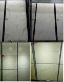 Azulejo de suelo de mármol blanco de la porcelana de la marca de fábrica 80X80 de Foshan del material de construcción con la superficie Polished y mate