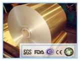 50 micron di 1000mm di larghezza della famiglia di alluminio di rullo del