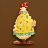 Magnete Handmade del frigorifero di Polyresin della resina dell'OEM di promozione (YH-RFM016)