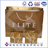 최상 금 카드 종이 쇼핑 백, 단화 부대, 종이 봉지 중국 공급자