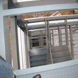 Construcción del almacén de la estructura de acero para la fábrica del alimento