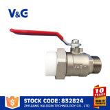 Válvula de esfera de aço inoxidável CF8m em aço inoxidável (VG-A76031)