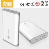 Batería portable 12000mAh de la potencia de la alta capacidad D101 para el teléfono móvil