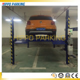 Parking 4 Postes elevador o grúa de aparcamiento de vehículos de 4 polos