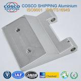 Perfil de alumínio para dobradiça com usinagem CNC