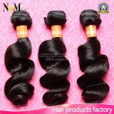 브라질 머리 자연적인 흑발 (QB-BVRH-LW)