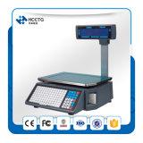 Balanza electrónica digital con impresora de etiquetas térmicas Impresión Escalas Hls1000