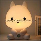 베스트셀러 지능적인 판다, 토끼는, 창조적인 선물 LED 빛을 품는다