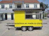 Heiße verkaufende mobile Schnellimbiss-Karren für Verkauf (SHJ-CR320)