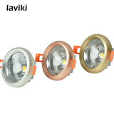 Luz Recessed 3W-12W do ponto do diodo emissor de luz da ESPIGA de Dimmable