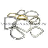 """Anelli a """"D"""" in lega di zinco della tessitura del sacchetto del metallo del pezzo fuso"""
