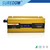 Off Grid 2000W DC AC 12V 220V Power Inverter