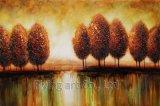 Bunte abstrakte Baum-Ölgemälde