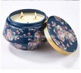 Candela della soia della STAZIONE TERMALE di fragranza, candela domestica della soia della decorazione