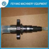 Injetor de combustível do motor diesel para máquinas de construção