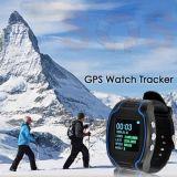 Il mini orologio GPS101 di GPS per il Elder/bambini, modo doppio Communciate protegge il tasto di sicurezza SOS della proprietà per guida Emergency