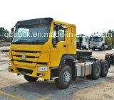 Sinotruk 6X4 endireita/mão esquerdo que conduz o caminhão do trator de HOWO 371HP (ZZ4257S3241W)