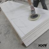 Superficie bianca del solido della pietra della parete della resina acrilica del ghiacciaio di Kingkonree