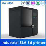 500 * 400 * 300mm Tamanho do edifício 0.025mm Resina de precisão Industrial SLA 3D Printer