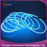 Luz de néon da corda do fio colorido do EL para a decoração
