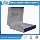 Boîte d'emballage de cadeau en carton bleu pour l'insert de montre Jewellry