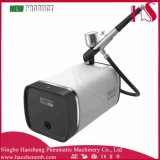 HS-M100k 2016 Produto muito popular Novo Pistion Airbrush Compressor Suit Airbrush Beauty Maquiagem Spray Gun Kit Nail Art Design