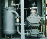 Compresor de aire lubrificado por aceite de dos fases del tornillo del nuevo estilo de Afengda