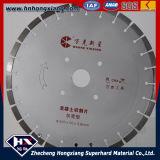 Lâmina de serra de diamante de 400 mm para estrada de concreto de asfalto