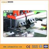 Máquina de perfuração hidráulica da placa de aço do CNC