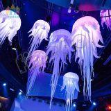 Finego, das Ballon aufblasbare Quallen für Partei-Stadiums-Dekoration bekanntmacht