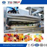 50-80kg/h doces Gummies totalmente automático com controlo PLC da Máquina