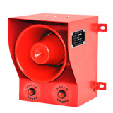 AC110V 시끄러운 음성 소리 경보 청취가능한 경고 경보
