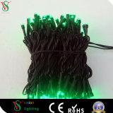 cable del PVC 110V que cuelga la luz impermeable al aire libre de la cadena del LED