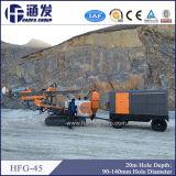 Hfg-45 strumentazione di perforazione rotativa del cingolo DTH