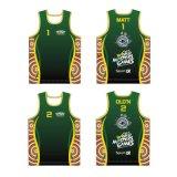 Custom Artwork Design Singlets Running Sports Vest for Runner