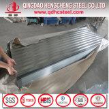 Z100熱い浸された波形の電流を通された金属の屋根ふきの価格
