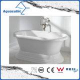 Tina de baño libre inconsútil de acrílico pura del cuarto de baño (AB6515)