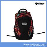 Sacola Mochila colorida para escola, laptop, caminhadas, viagens