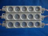 5730 5LEDs módulo de la inyección LED para hacer publicidad de la carta