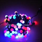 LED 10mのクリスマスストリング球ライト