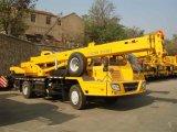 China 12 Ton Three Boom Truck Mobile Crane