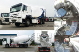 Het Merk van Sinotruk 8X4 die de Vrachtwagen van de Concrete Mixer drijven
