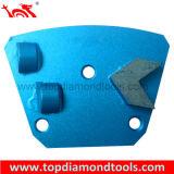 Malende Schijf PCD met het Beschermende Segment van de Diamant voor Concrete Vloer