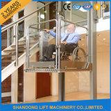 شاقوليّ خارجيّ كرسيّ ذو عجلات مصعد لأنّ درجة