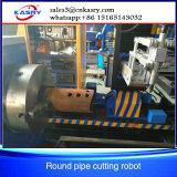 CNC de Scherpe Machine van de Pijp met de Schuine rand van het Plasma 45 Graad