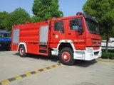 泡のタイプ射撃戦のトラックを運転する中国4X2